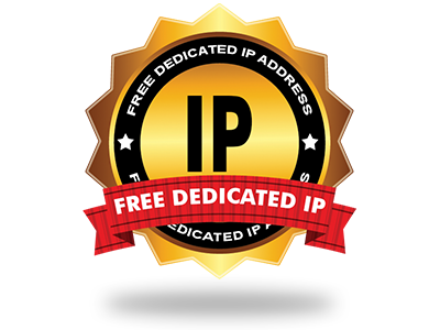 A no cost Dedicated IP